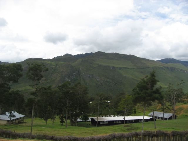 Remote Area in Tiom, Papua, Indonesia