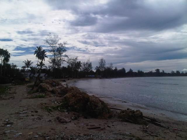 Pantai di Sarmi