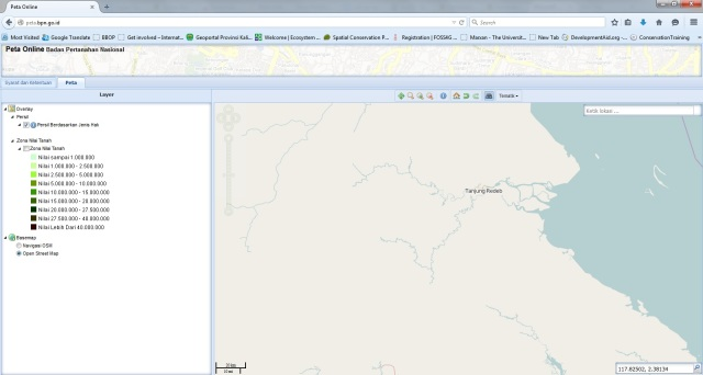 BPN Web GIS