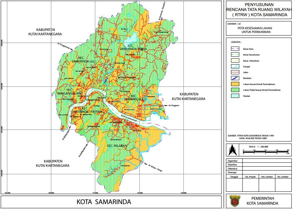 RDTR Samarinda sumber: http://bappeda.samarindakota.go.id