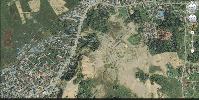 Lokasi tambang di Samarinda