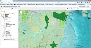 Platform online Kaltim.Menunggu Tata Ruang di sahkan:. Sumber: http://onedataonemap.kaltimprov.go.id/geoportal/index.php/viewer#
