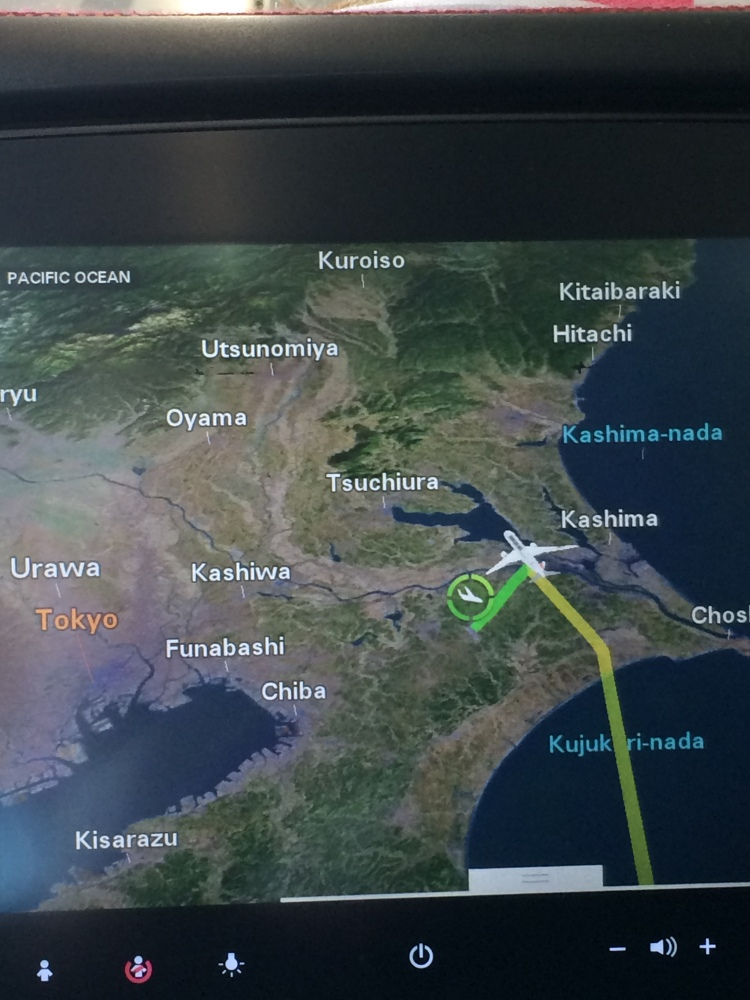 GPS from JAL