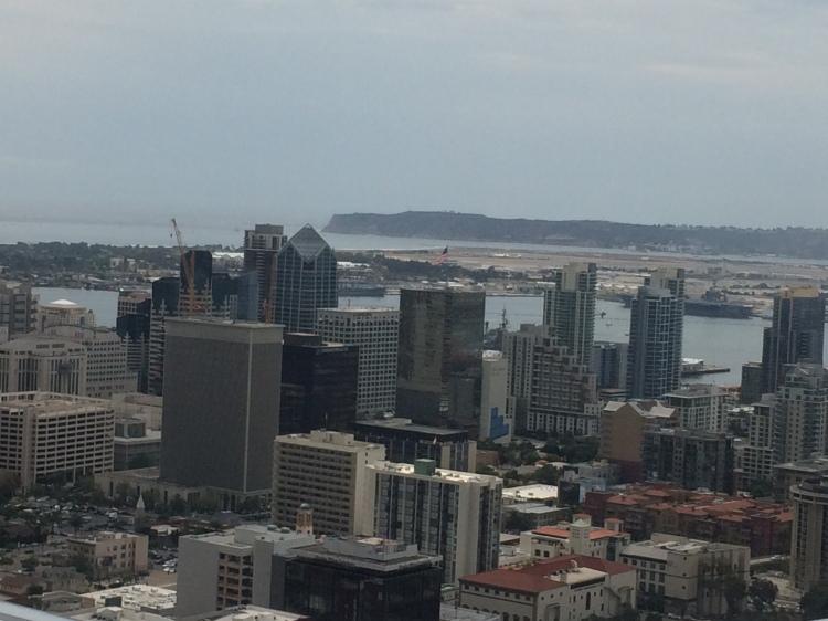 Sky scrapper San Diego City