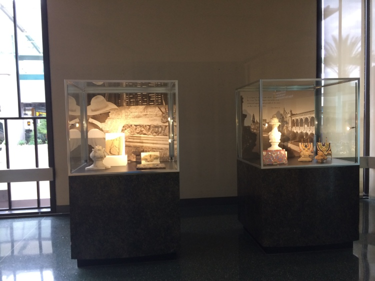 Some historical display in San Diego Airport