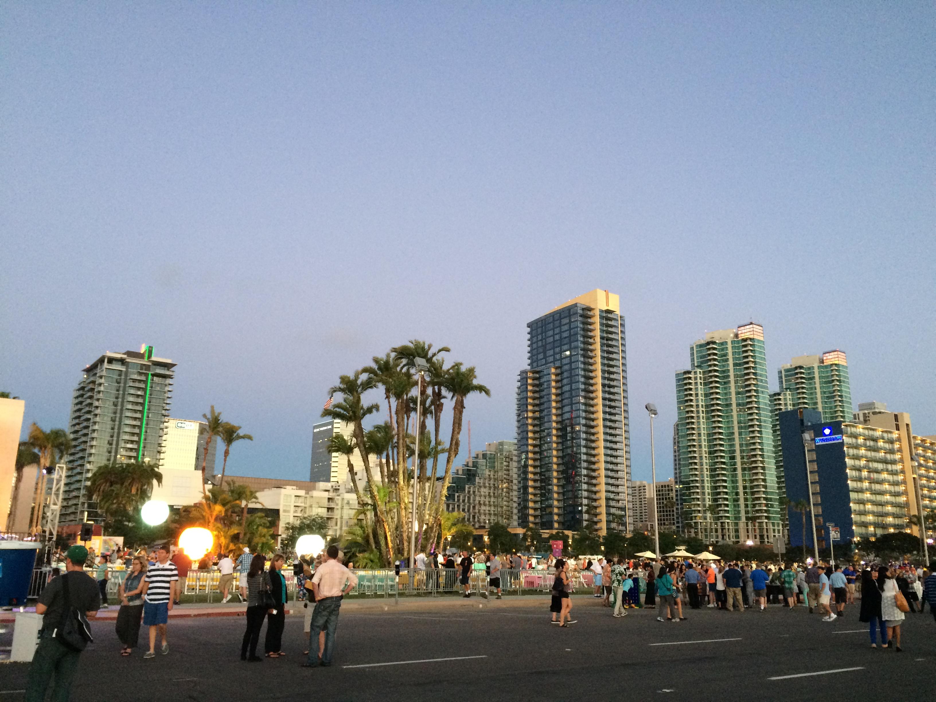 San Diego City downtown