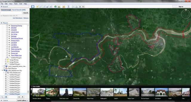 Kondisi Sektar Sungai Yang dikelilingi oleh perkebunan Sawit dan Tambang Batubara