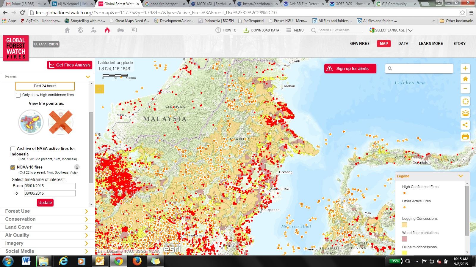 GFW fires_concession map June-Sept 2015_East Kal