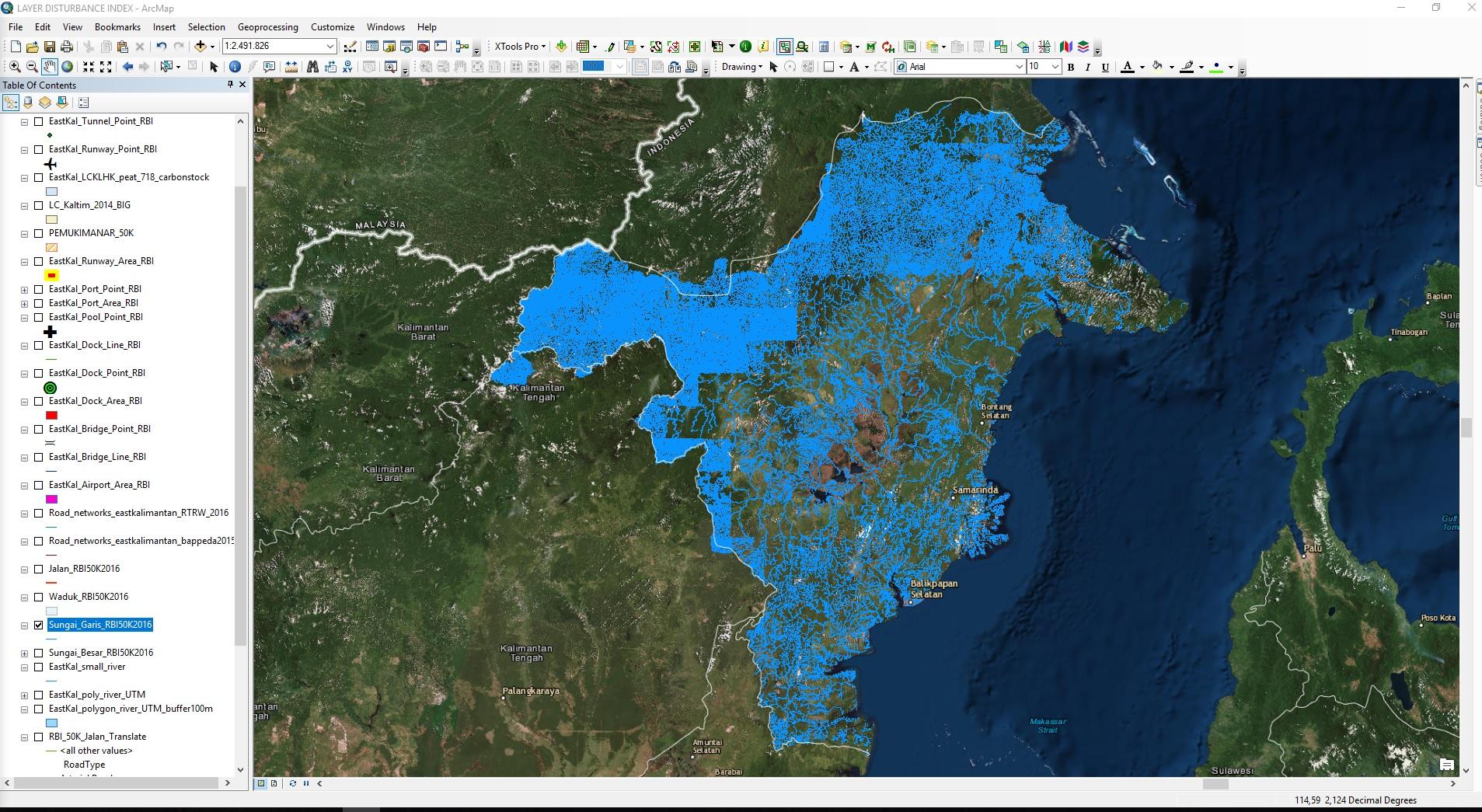 sungai_kaltim_inkonsistensi_data_antar_grid
