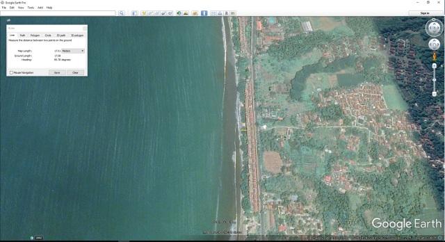 sepadan pantai CARITA