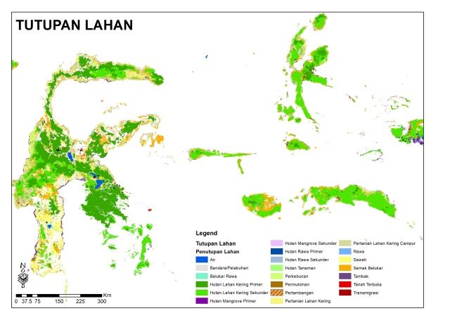 Tutupan lahan Sulawesi_Maluku